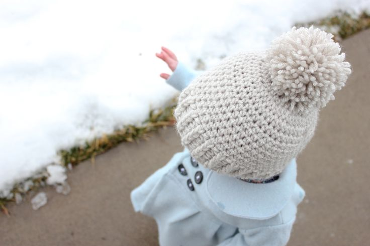 #FREE Crocheted Ribbed Beanie