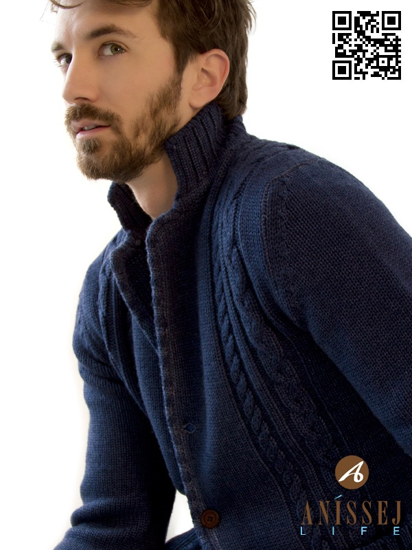 Like a Cardigan. Jacket in wool knit Anìssej Life. www.anissejlife.com #fashion #anissejlife #jacket