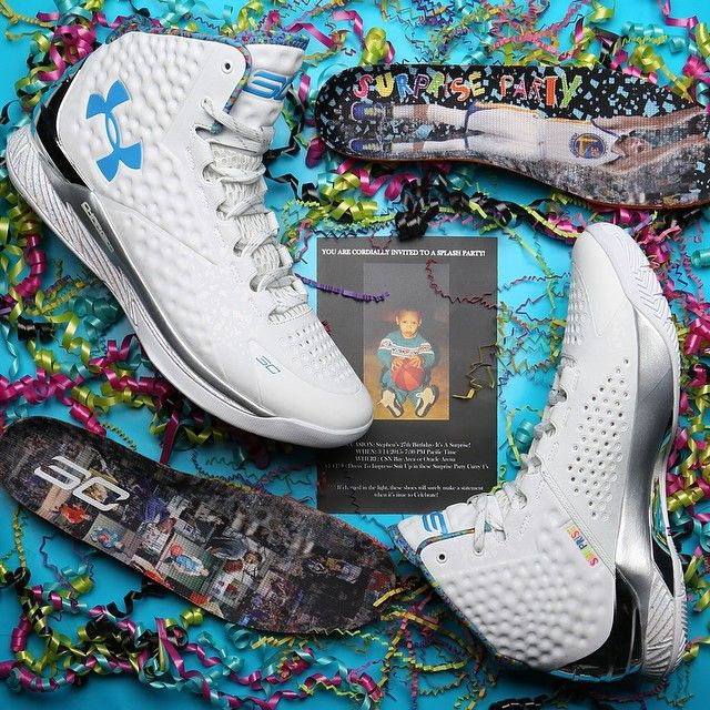 Under Armour Gave Stephen Curry Sneakers For His Birthday