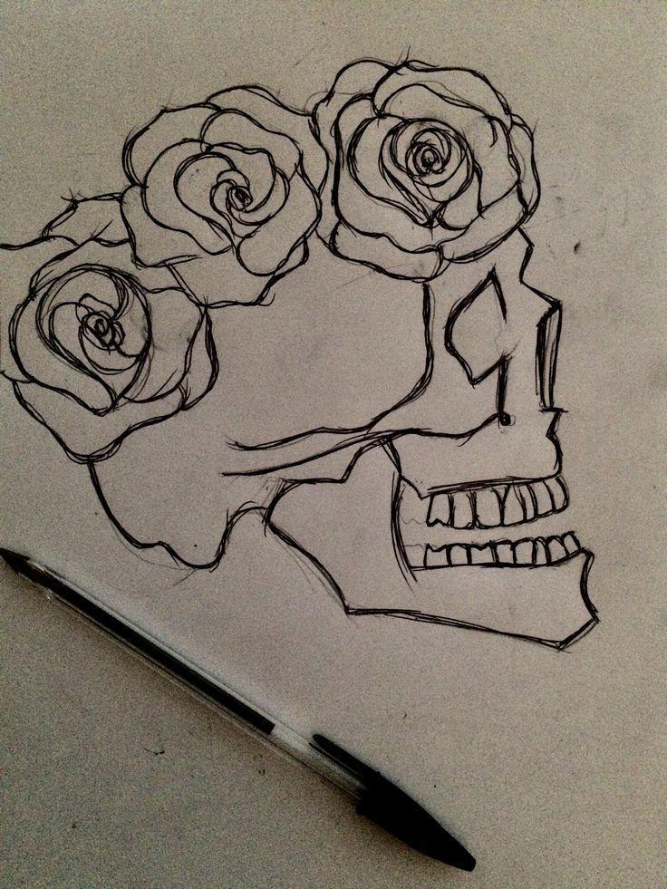 Statt Rosen Schmetterlinge und es könnte eine Zeichnung sein – #Anstell … #tattoos