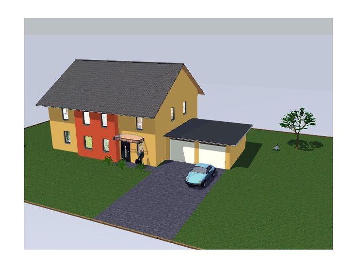 Hausbau satteldach  Die besten 20+ Einfamilienhaus mit einliegerwohnung Ideen auf ...
