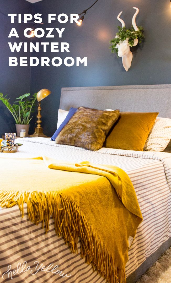 Top Tips for a Cozy Winter Bedroom #LeonsHelloHoliday