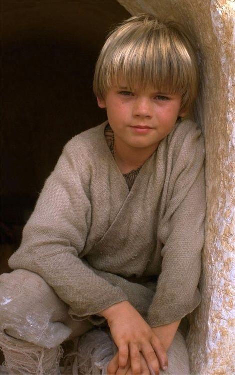 Young Anakin Skywalker Anakin was conceived by midi-chlorians, the symbiotic organisms that allowed individuals to touch the Force, and he and his mother were brought to the desert planet of Tatooine to be the slaves of Gardulla the Hutt. They soon ended up as the property of the Toydarian Watto.