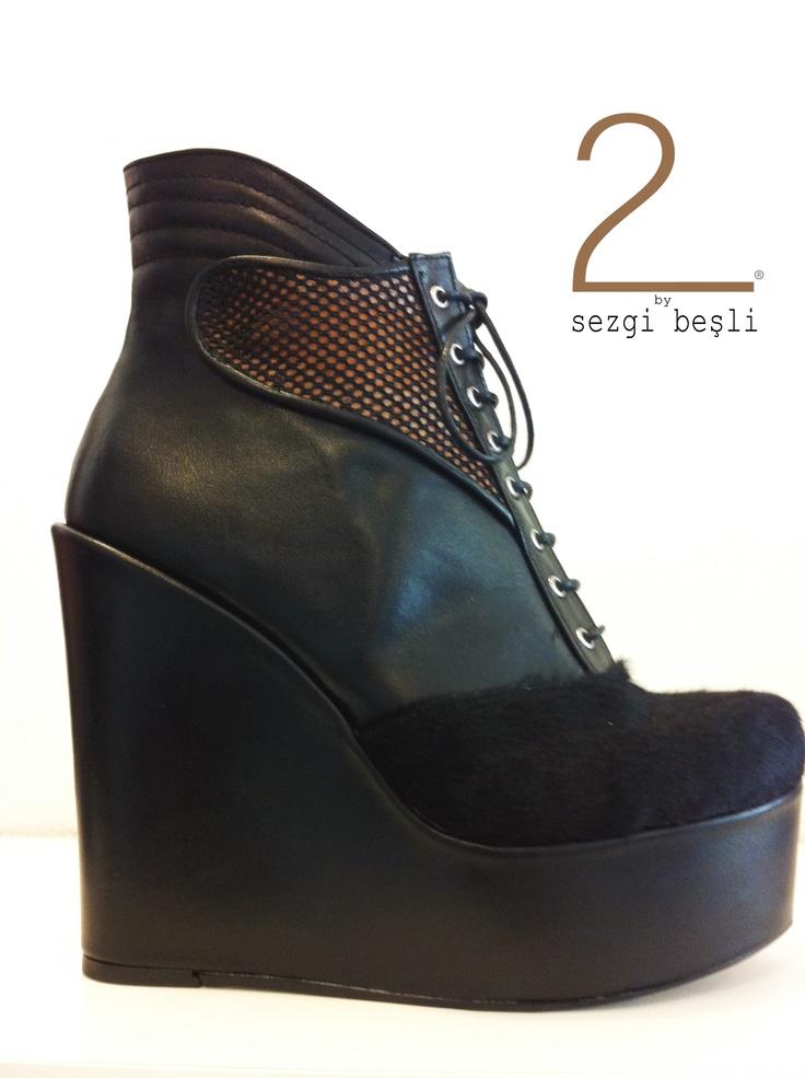 designed by Sezgi Besli  %100 leather high heels shoes