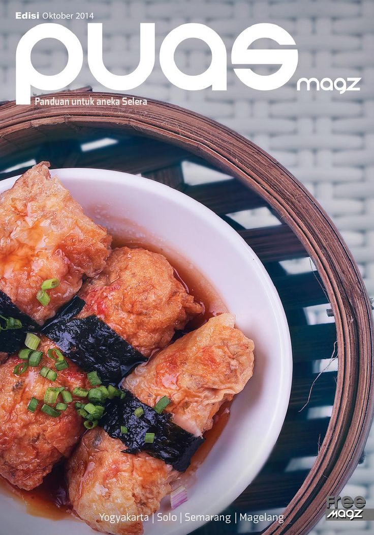 PUAS magz Oktober 2014, Majalah kuliner Bulanan yang lagi trend, mengulas tentang review tempat makan juga makanan sehat, silahkan donlot bro and sist...