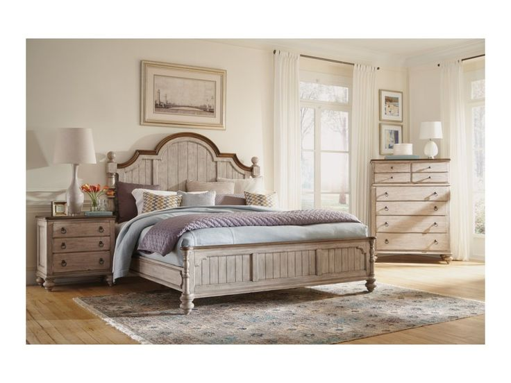 The Plymouth Queen Bedroom Group by Flexsteel Wynwood Collection at Olinde's Furniture in the Baton Rouge and Lafayette, Louisiana area.