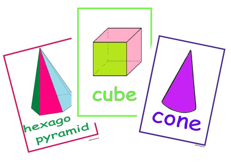 3D shapes charts. A colourful classroom resource or can be used in learning activities http://www.edspecially4u.com.au/product/3d-shape-charts/