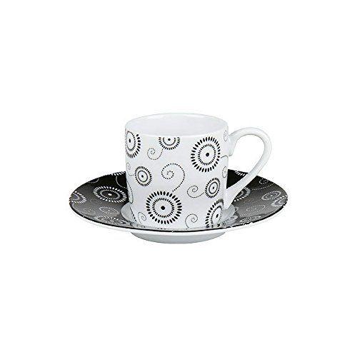 Espressoset Circle - White