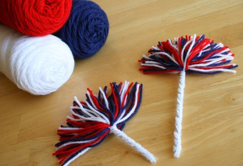 Get ready to cheer on the fabulous floats at this weekend's parade with these fun Firework Pom Poms. They're the perfect sparkle for your child to hold as the clowns and marching bands go by. Supplies for Firework Pom Poms:... Continue Reading →