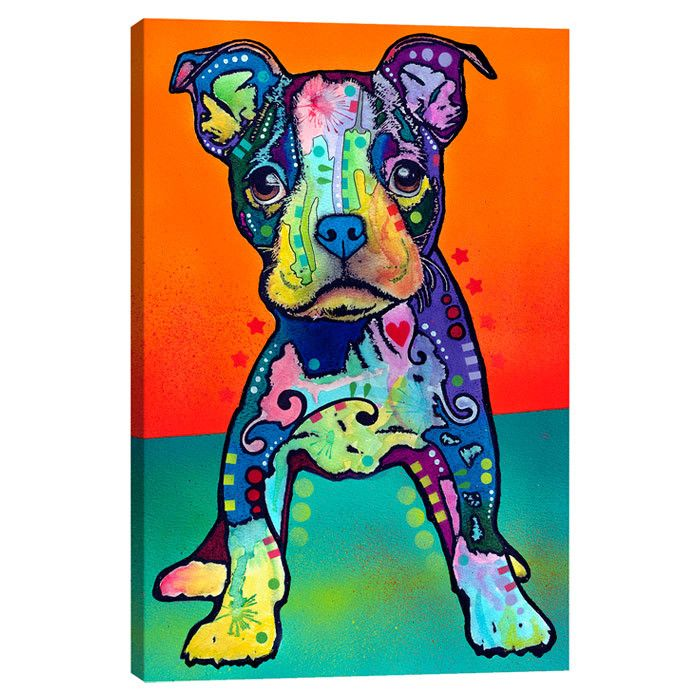 Pitbull Wall Art 450 best artwork images on pinterest | dean o'gorman, dog art and