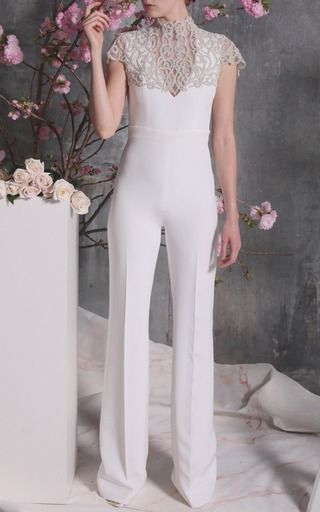 Christian Siriano Backless Jumpsuit