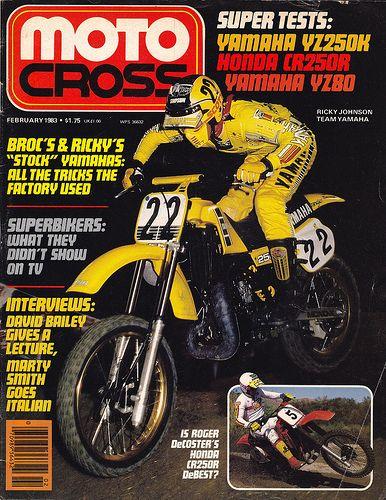 Rick Johnson on the cover of MOTOCross Magazine