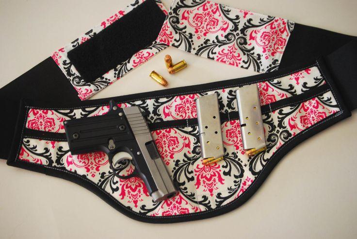 Concealed carry holster for women pink by SlightlyBefuddled, $60.00