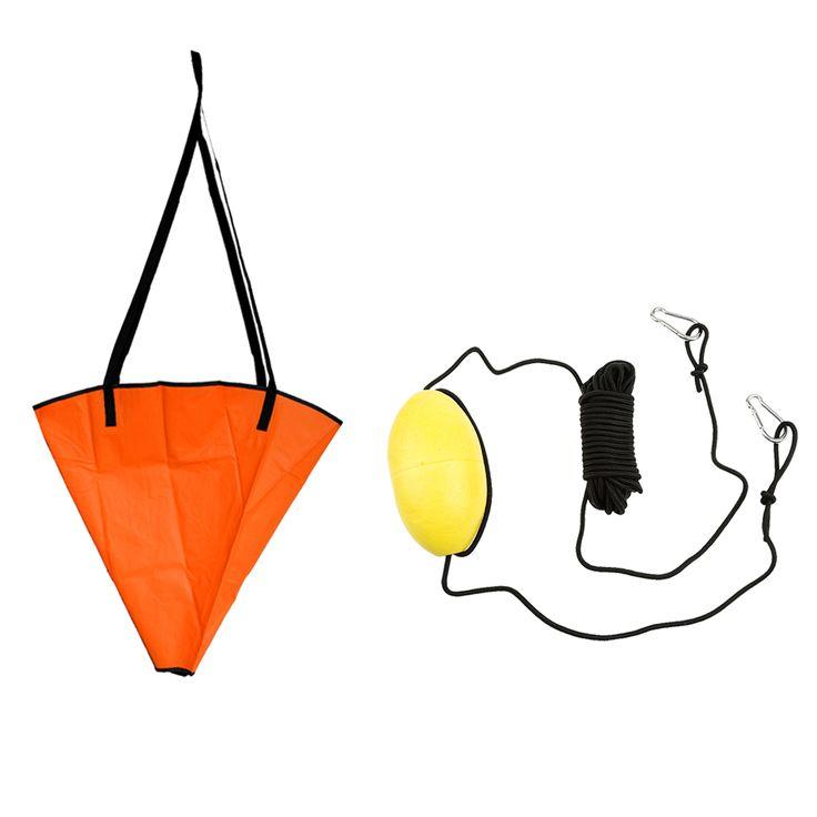'Treibanker Kabelpressverbindung + 30ft PVC Kajak Drift Anker Schlepptau seil Schlepptau Linie Werfen Linie für die Fischerei Kanu Schlauchboot Schlauchboot Yacht