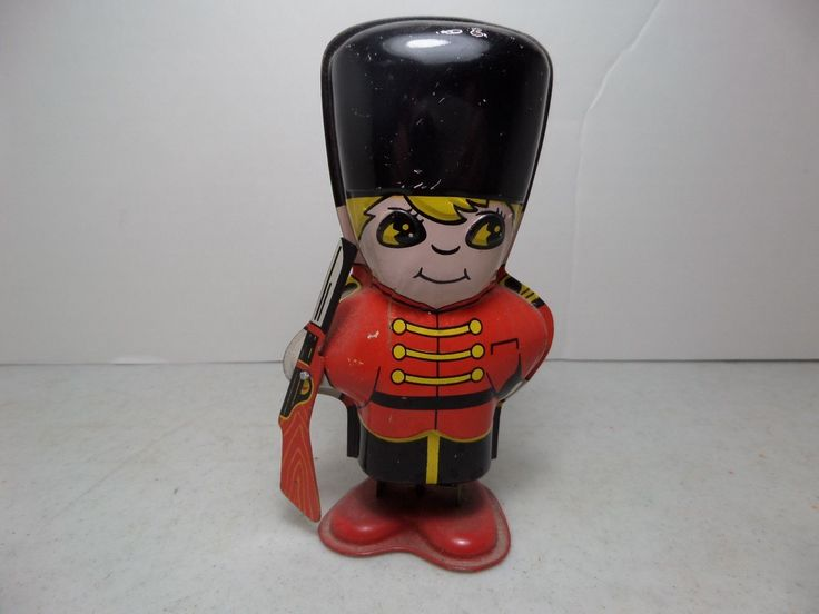 (Lot #155) Vintage SY Tin Toys Japan Soldier Working | eBay