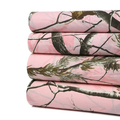 Realtree Realtree Johana 180 Thread Count Sheet Set Size: Twin