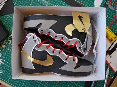 Paper shoes!