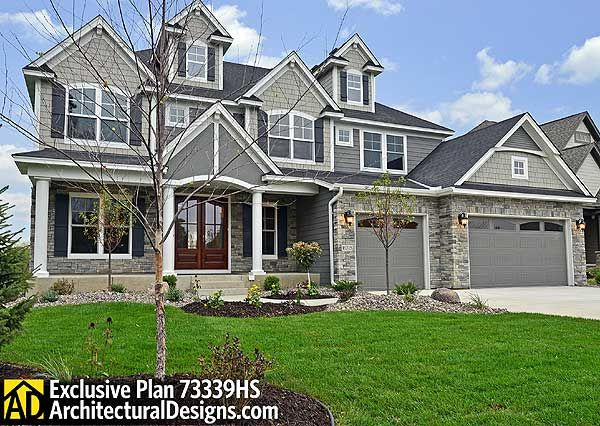 Plan 73339hs storybook house plan with 4 to 6 bedrooms craftsman house and design for Storybook craftsman house plans