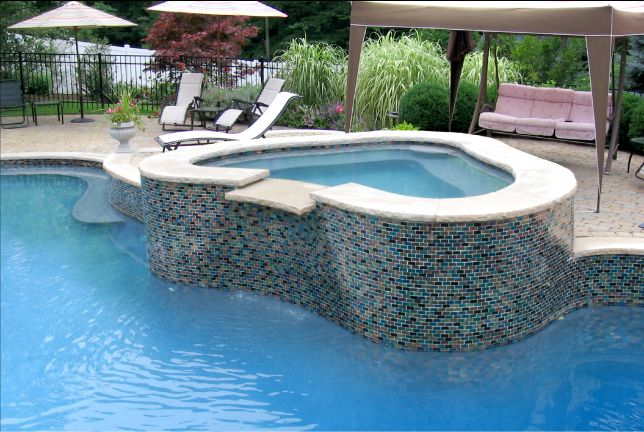 9 best images about swimming pool or spa design on pinterest swimming pool tiles swim and ux - Swimming pool tiles designs ...