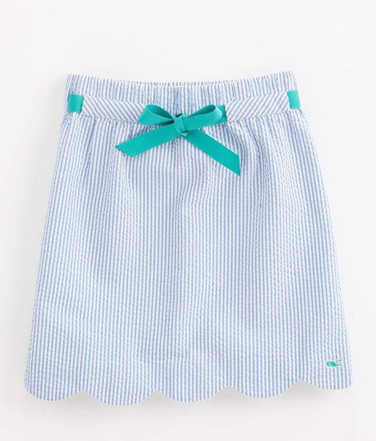 Seersucker Margo Skirt -- get in my closet right now