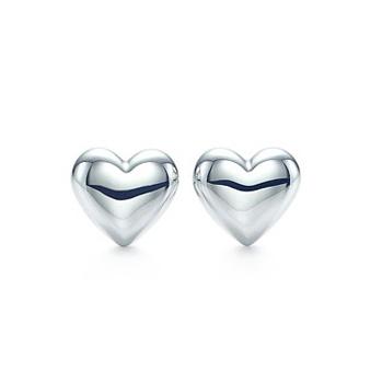 Tiffany Silver Hearts Earrings