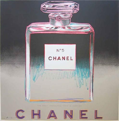 Chanel by Andy Warhol.