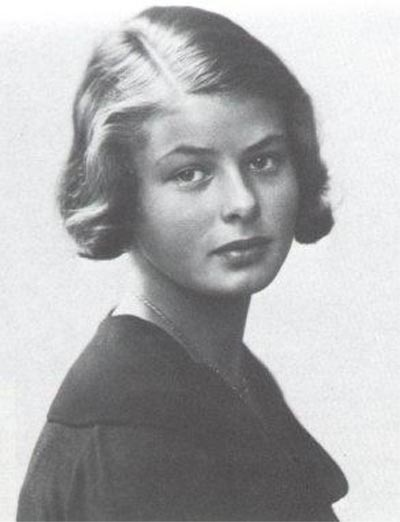 Ingrid Bergman at 14.