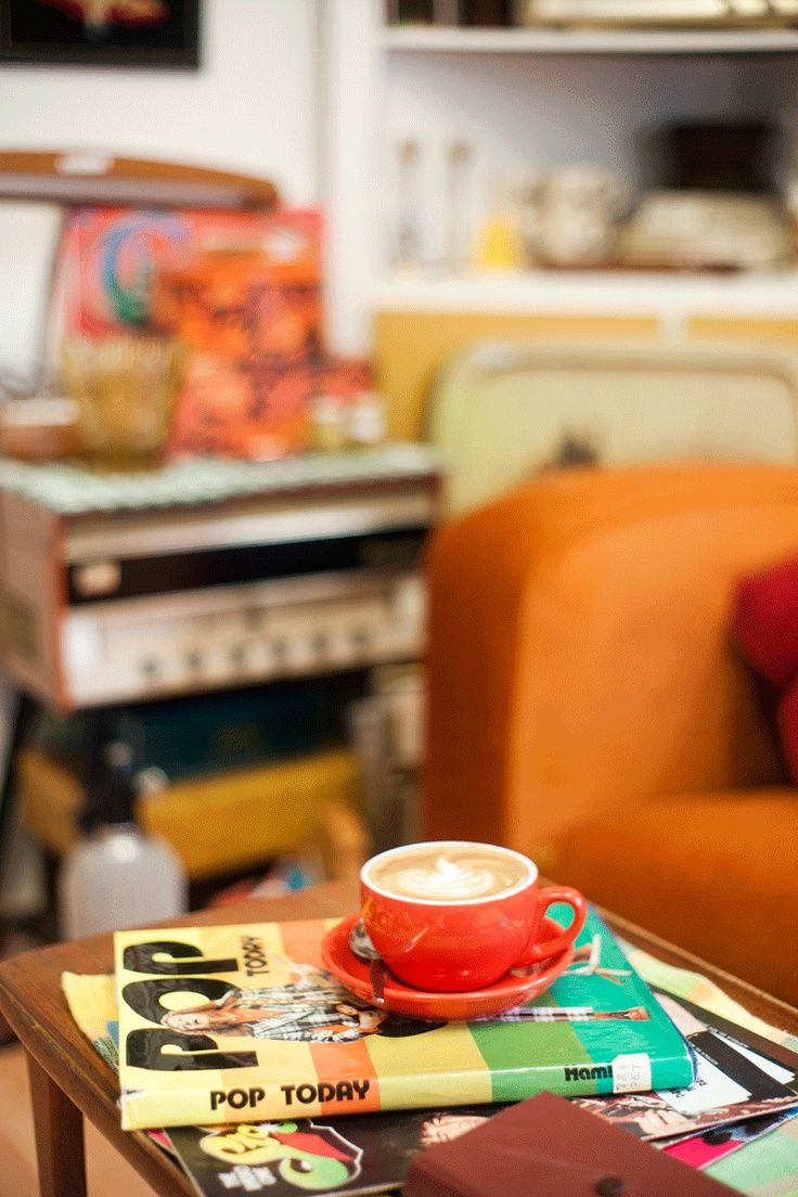 What a Treat Cafe - 8-12 Rosetta Street, West Croydon. Op shop meets quirky cafe. Love! As seen in the Adelaide* magazine May 2012 issue. http://www.theadmag.com.au