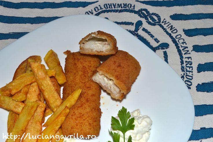 Fish'n chips ca la Moldova
