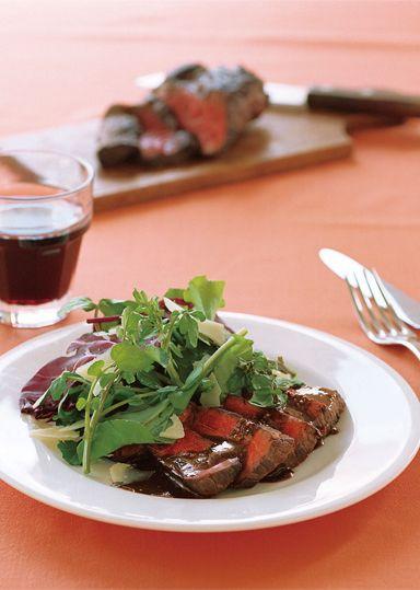 牛肉のタリアータ のレシピ・作り方 │ABCクッキングスタジオのレシピ   料理教室・スクールならABCクッキングスタジオ