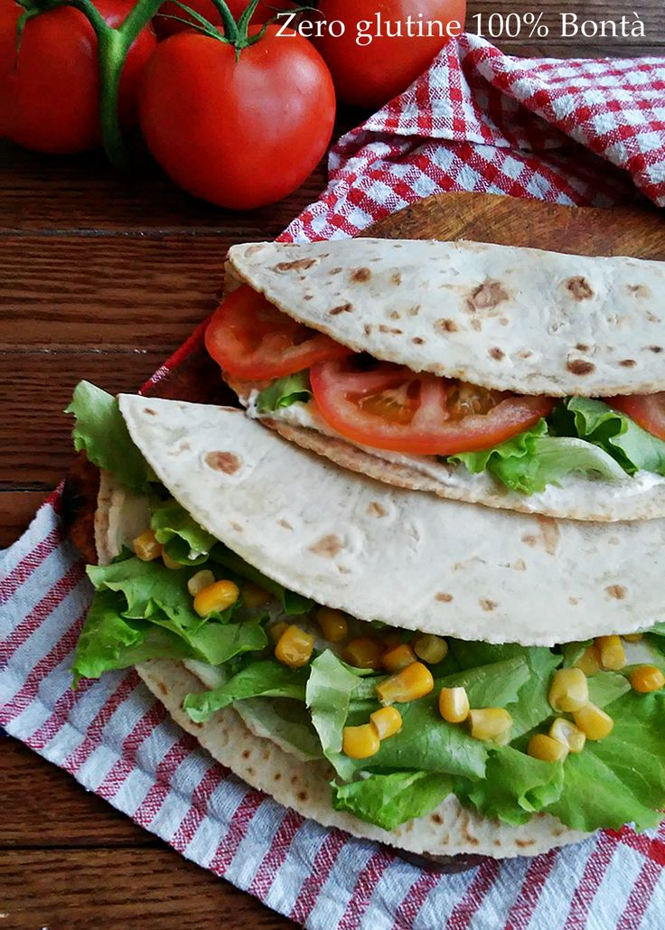 Piadine vegan #glutenfree  http://blog.giallozafferano.it/zeroglutine/piadine-vegane/