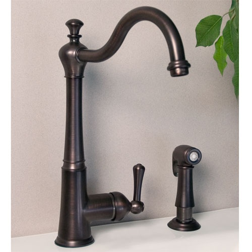 Marlow Single Hole Kitchen Faucet With Swivel Spout Faucets Taps And Old F