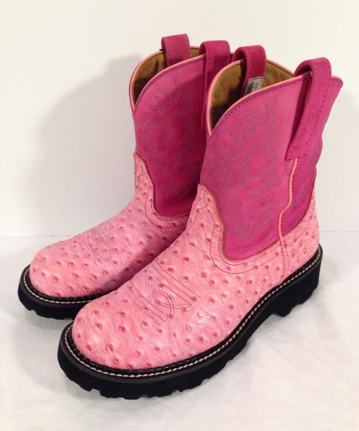 Pink Ariat Fatbaby Boots Bsrjc Boots