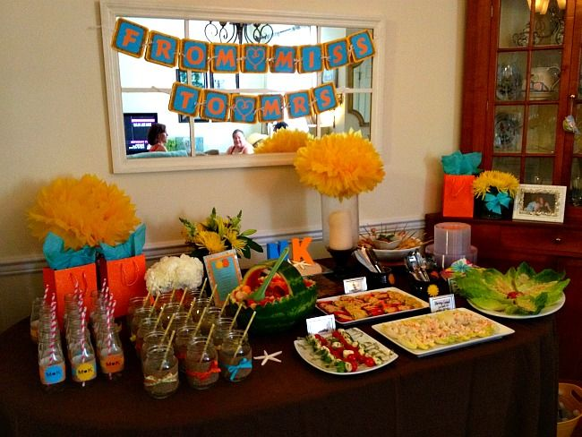 Caribbean Party Tips Theme Parties N More: 1000+ Images About Bridal Shower On Pinterest