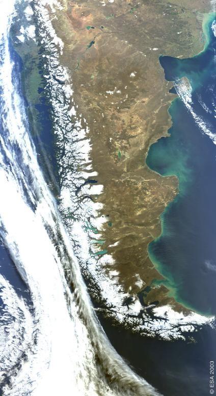 Mapas Satelitales, Fotos, Imagenes Satélites de Argentina