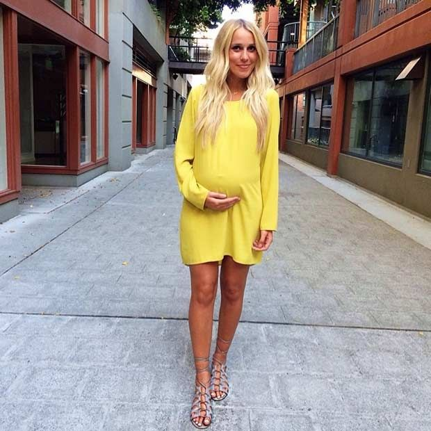 Best 25+ Yellow Maternity Dress Ideas On Pinterest | Maternity Wear, Summer  Pregnancy Fashion And Summer Pregnancy Style