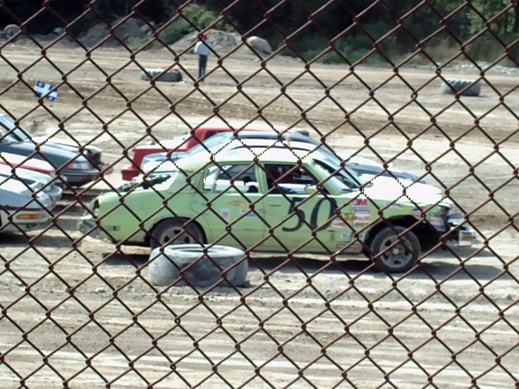 Stock Car Beaudry 2007   #50   Green car : Pontiac Bonneville