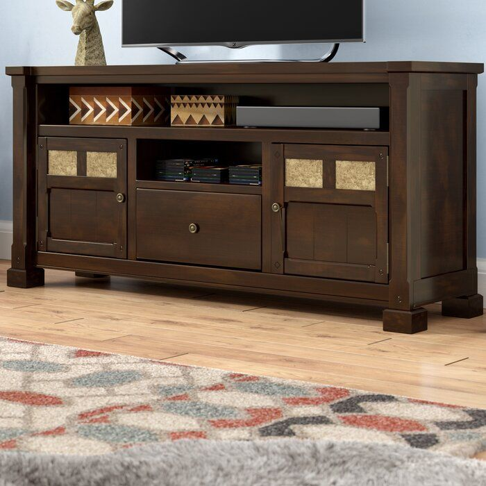 Genesee Solid Wood Tv Stand For Tvs Up To 70 Inches Reviews Birch Lane Solid Wood Tv Stand Tv Stand Credenza Tv Stand