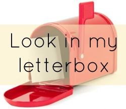 Look in my letterbox