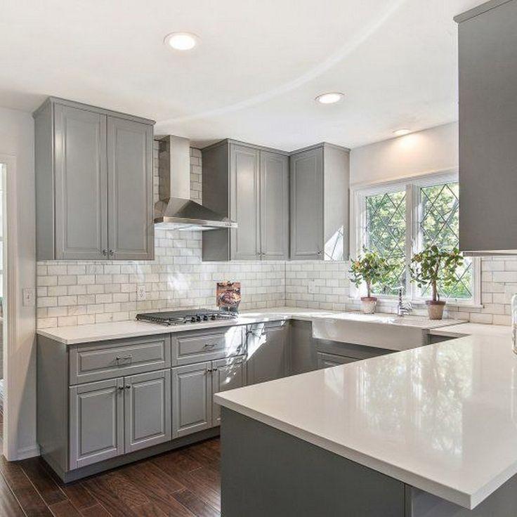 best 25 modern grey kitchen ideas on pinterest modern kitchens grey kitchens and kitchen cabinets