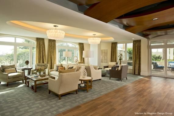 The Residential Lounge At Moorings Park Photo Randall Perry Senior Living Pinterest
