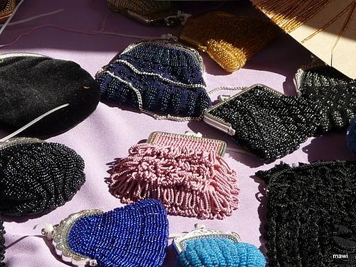 Dutsh Knitting with Beads