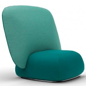 Skrivo's Halo chair comprises two parts that slot together