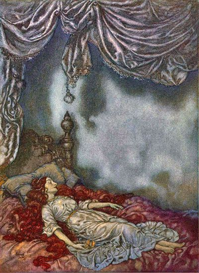 Sleeping Beauty by Edmund Dulac