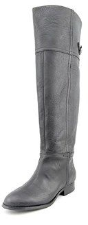 Chinese Laundry Flash Round Toe Leather Over The Knee Boot.