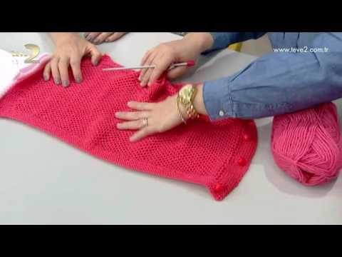 Derya Baykal'la Gülümse: Bebek Yeleği - YouTube