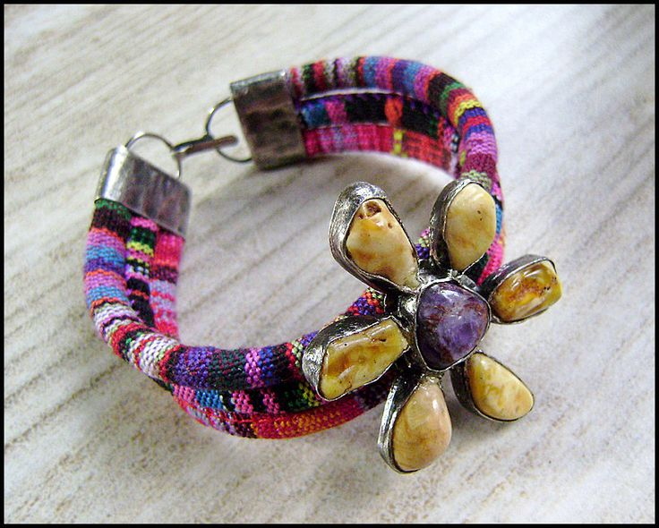 Colourful bracelet by artkatalina on Etsy