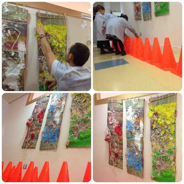 inspirados en Tapies Experiencia plástica en dos aulas de 3 años (2ª ciclo de Educación Infantil) sobre la obra de Antoni Tapies. Inspirarse en el artista partiendo del uso de sus materiales hasta conocer la obra original.