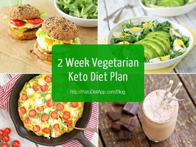 2 Week Vegetarian Keto Diet Plan