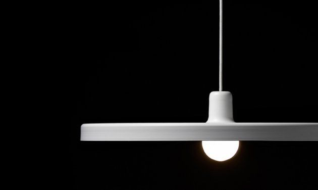 The Disk Pendant Lamp by Jean Francois D'or